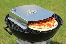 Outdoor Barbecue Pizza Oven for Charcoal or Gas Grill NEW to Market