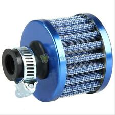 12mm Blue Car Motor Clean Fresh Air Cold Air Intake Filter Turbo Vent Crankcase