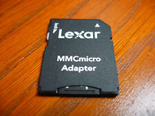 Lexar Mobile MMCmicro SD Card 256mb RARE TO FIND for Konica Minolta DiMAGE X60