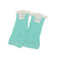 Fashion Kids Baby Girl Crochet Knitted Lace Boot Cuffs Toppers Leg Warmer Socks