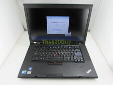 Lenovo ThinkPad W510 Laptop 15.6 Quad Core i7 1.73GHz 8GB 320GB DVDRW NVIDIA 1GB