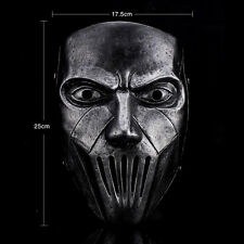 Silver Resin Slipknot Band Mick Thomson Movie Mask Halloween Party Costume Prop