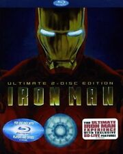 Iron Man  DVD Blu-ray Robert Downey Jr., Gwyneth Paltrow, Terrence Howard, Jeff