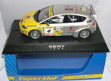SUPERSLOT H2705 SEAT LEON BTCC  #4  JASON PLATO   SCALEXTRIC UK  MB