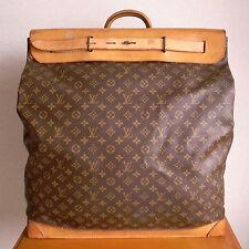 """VINTAGE LOUIS VUITTON """"STEAMER BAG 55"""" discontinued size Gorgeous Bag!!"""