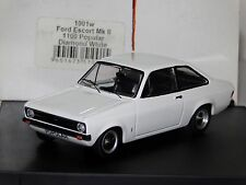 FORD ESCORT MK2 1000 POPULAR DIAMOND WHITE TROFEU 1001W 1:43