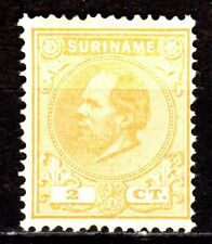 Suriname - 1883 Definitive William III - Mi. 15 MNG (some toning)