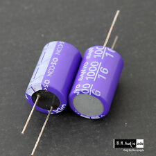 2PCS 1000uF 16V SANYO OSCON SA Large Aluminum Solid Capacitors long lead