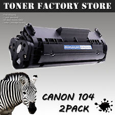 2PK Toner Cartridges For Canon FX9 / FX10 / C104 ImageClass D420 D480 MF4150