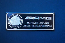 Aluminum Trunk Rear Car sticker emblem badge Fit for Mercedes-Benz C E S AMG