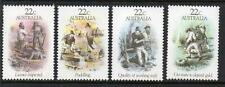 AUSTRALIA MNH 1981 SG774-777 GOLD RUSH ERA - SKETCHES BY S T GILL SET OF 4