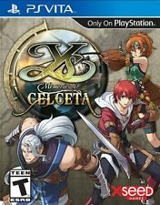 Ys: Memories Of Celceta [Sony PlayStation Vita, Action RPG, XSEED] Brand NEW