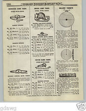 1919 PAPER AD Newhouse Iron Leg Hold Traps #6 # 6 Grizzly Bear #5 # 5 Black