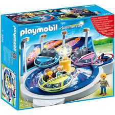 Playmobil Summer Fun Spinning Spaceship Ride with Lights 5554 NEW