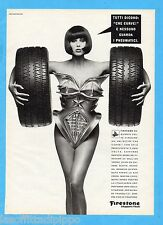 QUATTROR990-PUBBLICITA'/ADVERTISING-1990- FIRESTONE - FIREHAWK SV