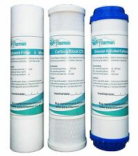 3 Replacement Pre Filters for Water fed pole window cleaning reverse osmosis RO