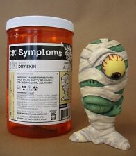 Symptoms DRY SKIN vinyl figure - Vinny Fiorello itchy cracking Pill Container