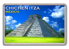 CHICHEN ITZA MEXICO FRIDGE MAGNET SOUVENIR IMÁN NEVERA