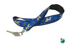 Soft Coated Wheaten Terrier Lanyard Key Holder Badge Holder