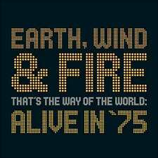 EARTH WIND & FIRE : THAT'S THE WAY OF THE WORLD: ALIVE IN 75 (CD) sealed
