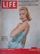 MAGAZINE LIFE EN ESPAGNOL de 1955  GRACE KELLY