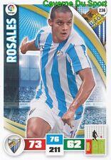 236 ROBERTO ROSALES VENEZUELA MALAGA.CF KAA.GENT CARD ADRENALYN LIGA 2016 PANINI