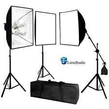 LimoStudio Photo Video Studio 2400 Watt Softbox Continuous Light Kit Supply Set