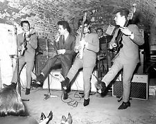 """Unknown Group At the cavern Club 1960s 10"""" x 8"""" Photograph"""
