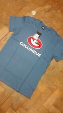 Cinelli Columbus Blue Fixie Cycle Race Bike T-shirt - Medium