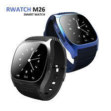 RWATCH  M26 BLUETOOTH MONTRE CONNECTÉE smartphone iPhone Android IOS podomètre
