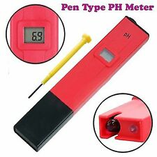 LCD Digital pen type Hydroponic Water PH Meter ,purity tester,reverse osmosis