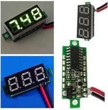 """Mini 2.5V-30V 0.28"""" Display LED Digital Voltmeter Voltage Tester Meter Green BOS"""