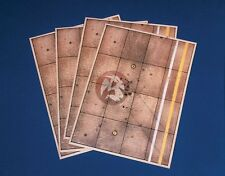 Verlinden 1/72 SuperValue Airfield Tarmac Section (4 Printed Sheets) 1632