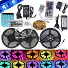 1m-30m LED RGB SMD5050 30/60 LEDs Streifen Strip Band Leiste + 44 key+ Netzteil