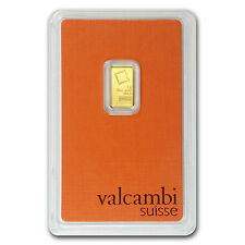 1 gram Valcambi Gold Bar - In Assay - SKU #77421
