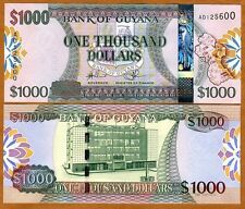 Guyana, 1000 dollars, ND (2011), P-New, UNC