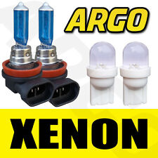 H8 708 XENON SUPER WHITE 35W FRONT FOG LIGHT 12V BULBS 501 LED T10 W5W 194 UK X2