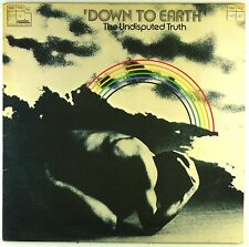 """12"""" LP - Undisputed Truth, The - Down To Earth - #A3166 - washed & cleaned"""