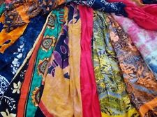 Select Your Own Lot of 10 PRINTED SARONG CASUAL BEACH DRESS WRAP SILK SARI SKIRT