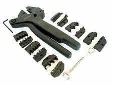 6 Pc Electrical Crimping Tool Kit Set 6 Dies Spade Ends Crimp by  Bergen 6632