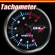 JDM 60mm 12V 270 Degree WHITE Light PERFORMANCE Auto Gauge Meter RPM TACHOMETER
