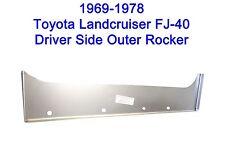 1969 - 1978 Toyota Land Cruiser FJ40 Driver Side Outer Rocker Panel   NEW