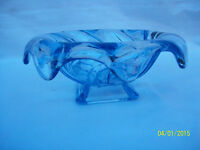 Bagley Glass Blue Equinox Vase