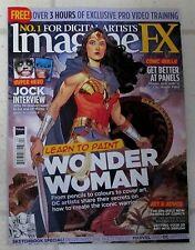 IMAGINE FX Free 3 Hr Videos D-load LEARN TO PAINT WONDER WOMAN Comic Skills JOCK