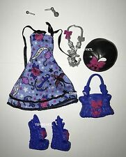 Monster High ShriekWrecked Shriek Mates Catrine DeMew Doll Outfit & Shoes NEW