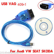 FTDI FT232RL VAG COM KKL 409.1 OBD2 Scanner K-Line KWP2000 USB FOR VW/AUDI/SEAT