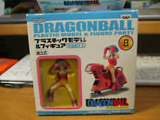 Banpresto Dragon Ball Plastic Model & Figure Part 1 #B Bulma & Bike used japan