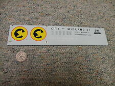 Herald King decals HO City of Midland car ferry set RARE   XX11