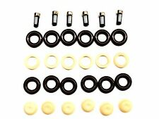 FUEL INJECTOR REPAIR KIT O-RINGS, PINTLE CAPS, SPACER FILTERS FORD GM V6