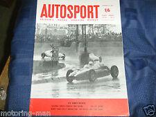 FORMULA TWO 2 RACING 1960 INNES IRELAND STIRLING MOSS JIM CLARK LOTUS PORSCHE
